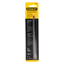 Stanley Coping Saw Blades 4Pk