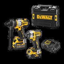 DeWalt Cordless Hammer Drill & Impact Driver Brushless 18v 5Ah/6Ah