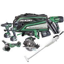 HiKOKI MultiVolt Cordless Combo Kit Brushless 7pc 18/36v