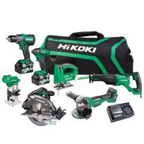HiKOKI MultiVolt Cordless Combo Kit Brushless 7pce 18/36v