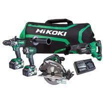 HiKOKI MultiVolt Cordless Combo Kit Brushless 4pc 36v 2.5Ah