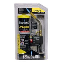 Bernzomatic Gas Torch Kit with MAPP Gas