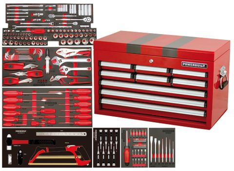 Powerbuilt Complete Tool Chest 219pc