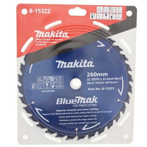 Makita BlueMak 260mm Saw Blades