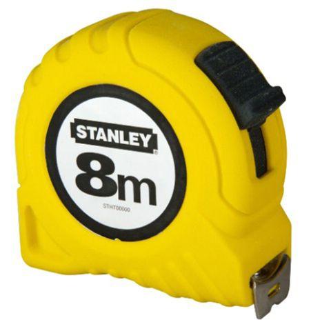 Stanley Measuring Tape Yellow 8m