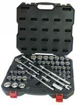 Powerbuilt Socket Set 1/2in Dr 44pc Metric/Imperial