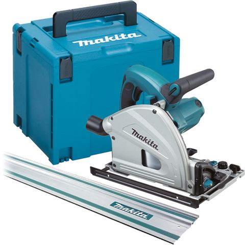 Makita Plunge Cut Rail Circular Saw + 1.4m Guide Rail