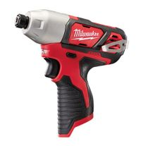 Milwaukee M12 Cordless Impact Driver 12v - Bare Tool