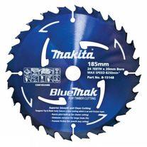Makita BlueMak Saw Blade TCT 185mm x 24T