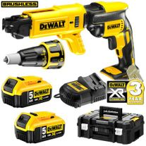 DeWalt Cordless Collated Screwdriver Brushless 18v 5Ah