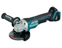 Makita Cordless Angle Grinder 125mm Brushless Paddle Switch XPT 18v (Bare Tool)