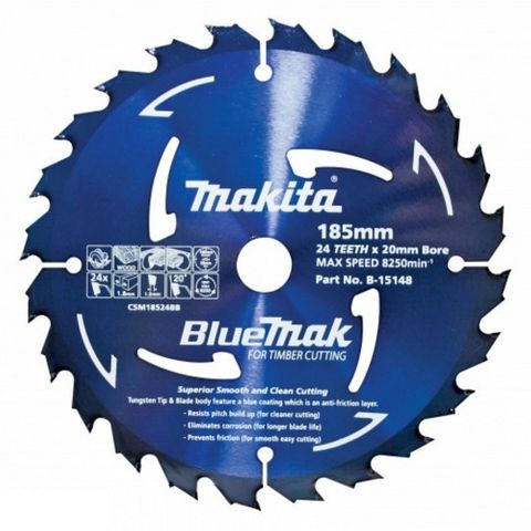 Makita BlueMak Saw Blade TCT 235mm x 20T