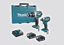 Makita Cordless Driver Drill & Impact Driver XPT 18v 5Ah
