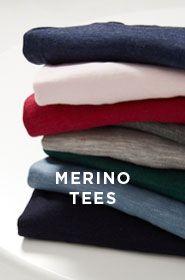 Merino Tee's