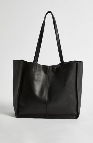 LEATHER TOTE SMALL