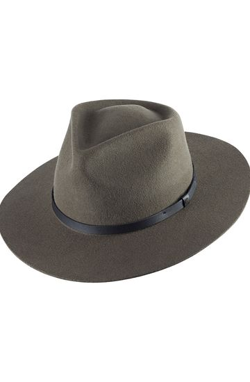GOODWIN WIDE BRIM WOOL FELT