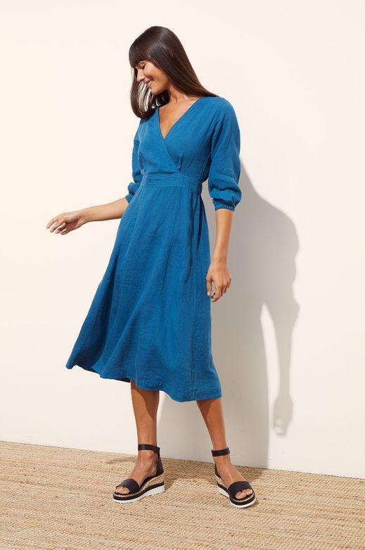 SERENITY LINEN DRESS