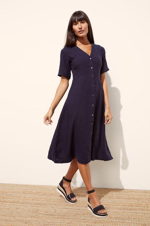 MERIMBULA LINEN DRESS