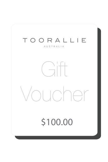 Voucher E-gift Voucher $100