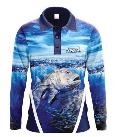 TW Fish Print Shirts - GT Adult