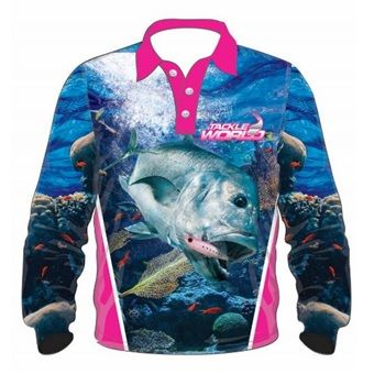 TW Fish Print Shirts - GT Girls