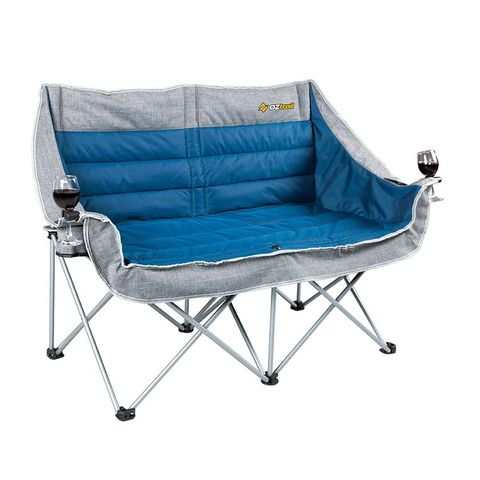 Oz Trail Galaxy 2 Seater Sofa with Arms
