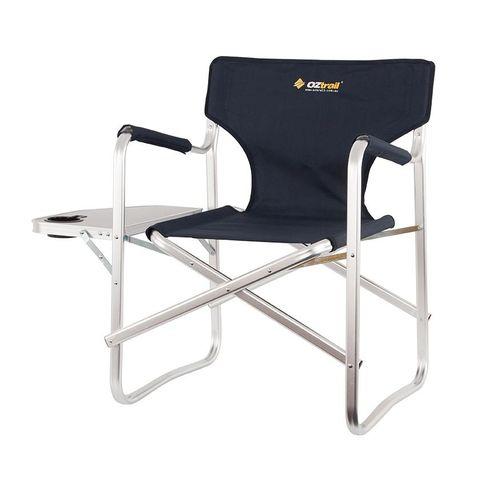 Oz Trail Directors Studio Chair w/side Table