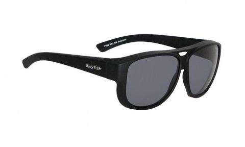 Ugly Fish Fitover Matt Black Frame / Smoke Polarised Lens