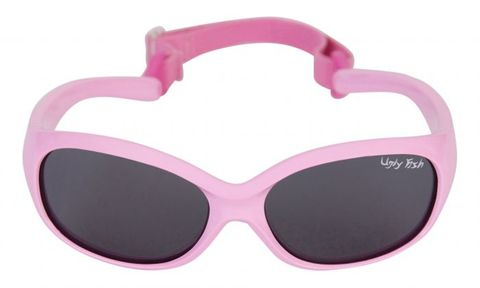Ugly Fish Ankle Biters Pink / Smoke Polarised Lens