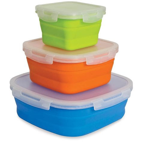 Pop Up Food Containers 3pk M/L