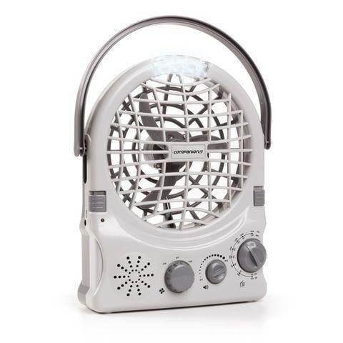 Recharge / Battery Fan /Radio