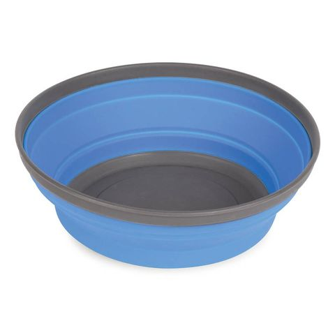 Pop Up Silicone Bowl Blue 17cm