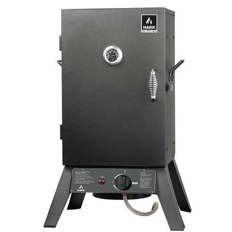 "Hark Patio 24"" Gas Smoker"