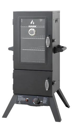 Hark 2 Door Gas Smoker With Window
