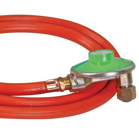 "Companion Low Pressure 3/8"" LH Regulator and Hose 900m"