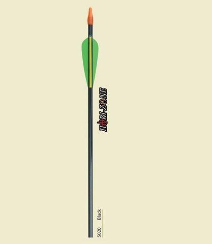 Target Arrow - Fiberglass Black