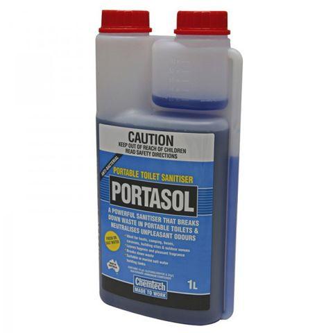 Portasol Toilet Sanitser 1L