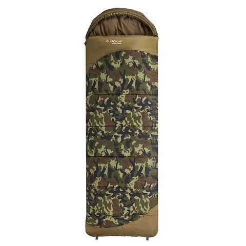 Oz Trail Lawson Tactix Hooded Sleeping Bag