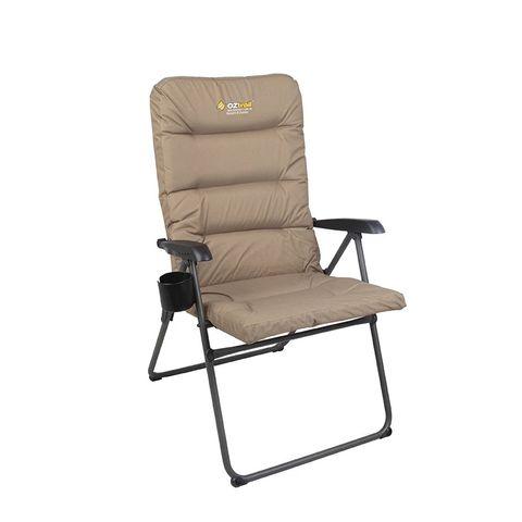 Oz Trail Coolum 5 Position Arm Chair