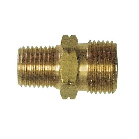 """Companion Cylinder Adaptor 3/8"""" LH Male to 1/4"""" BSP Male"""