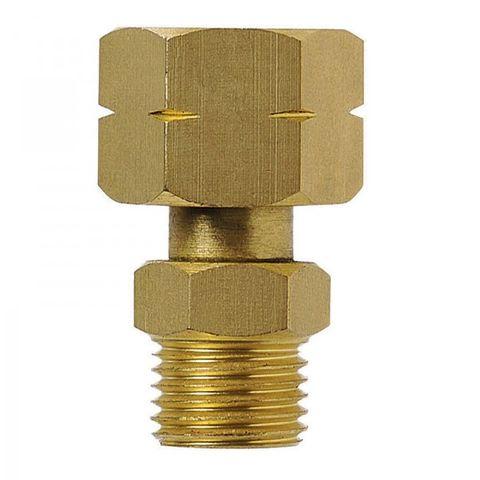 "Companion 3/8"" LH Cylinder Adaptor to 1/4"" BSP"