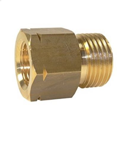 "Companion 3/8"" LH Male Cylinder Adaptor to 1/4"" BSP Female"