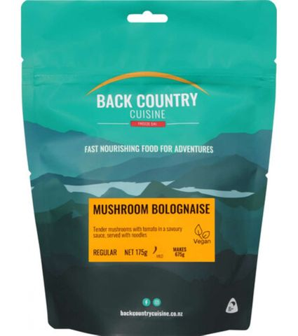 Back Country Cuisine Mushroom Bolognaise Double Serve