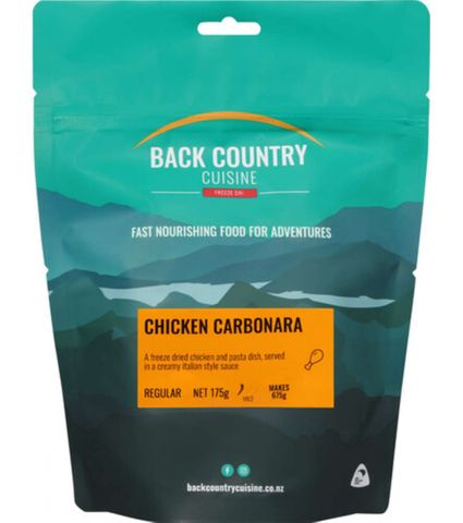 Back Country Cuisine Chicken Carbonara Double Serve