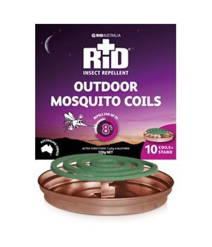 RID Mosquito Coils 10pk