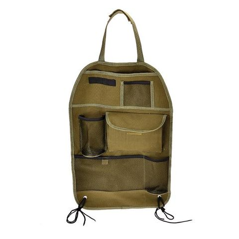 Oz Trail  Canvas Car Seat Organiser
