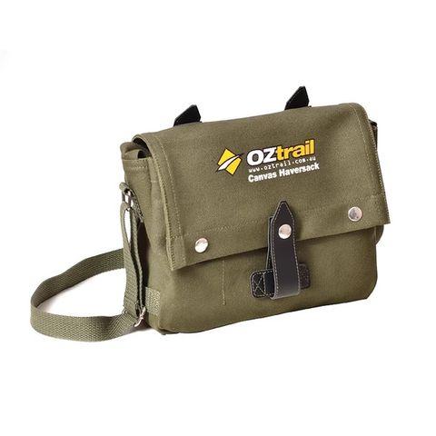 Oz Trail Canvas Haversack Bag