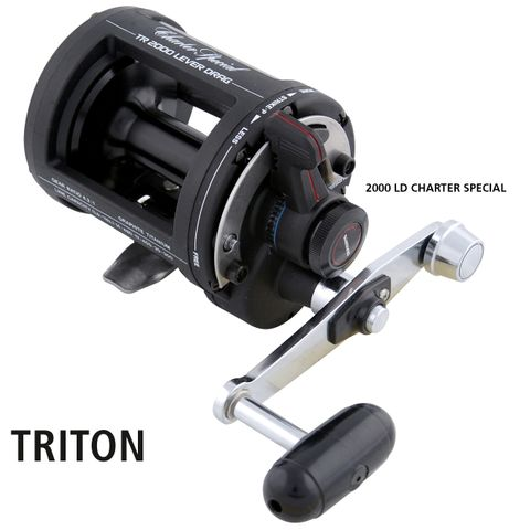 Shimano TR 2000LD Charter Special Overhead Reel