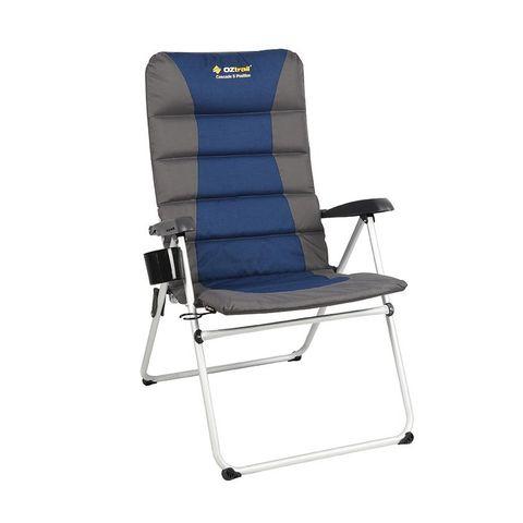 OZtrail Cascade 5 Position Jumbo Arm Chair