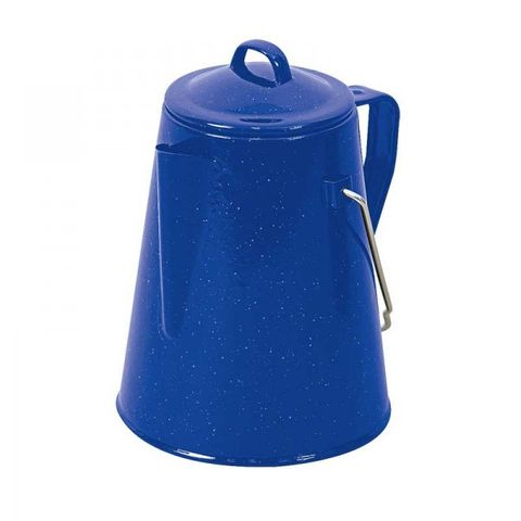Campfire Coffee Pot - Enamel 2 Litre